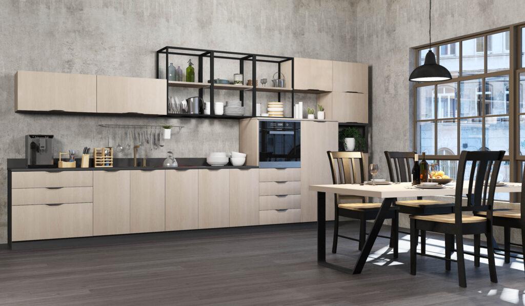 Zona Cocinas · Laminado -P62-SLATE HAYA 3596
