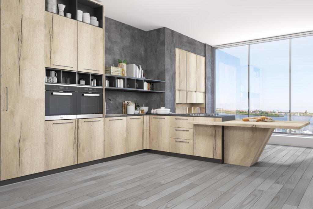Zona Cocinas · Laminado P75-HAFAX 1180