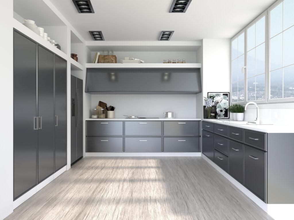 Zona Cocinas · Lacado P26-Lieja Metal Acero Inox