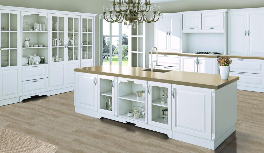 Zona Cocinas · Lacado P46-Oxford Blanco Mate