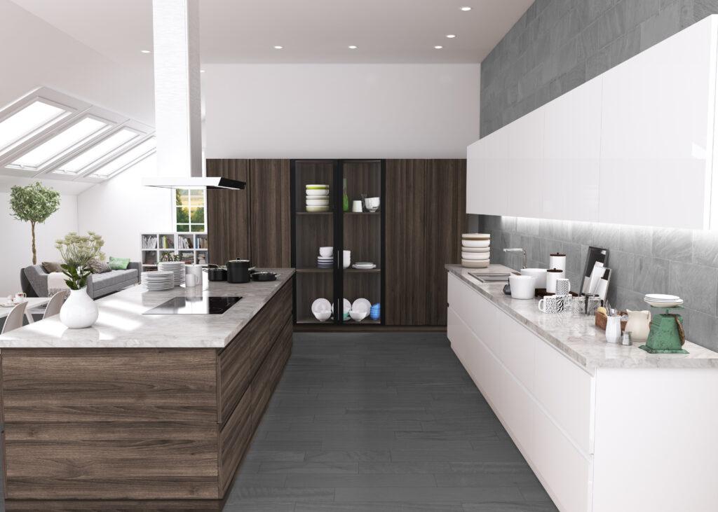 Zona Cocinas · Lacado P16-Cadaqués Blanco Brillo 1