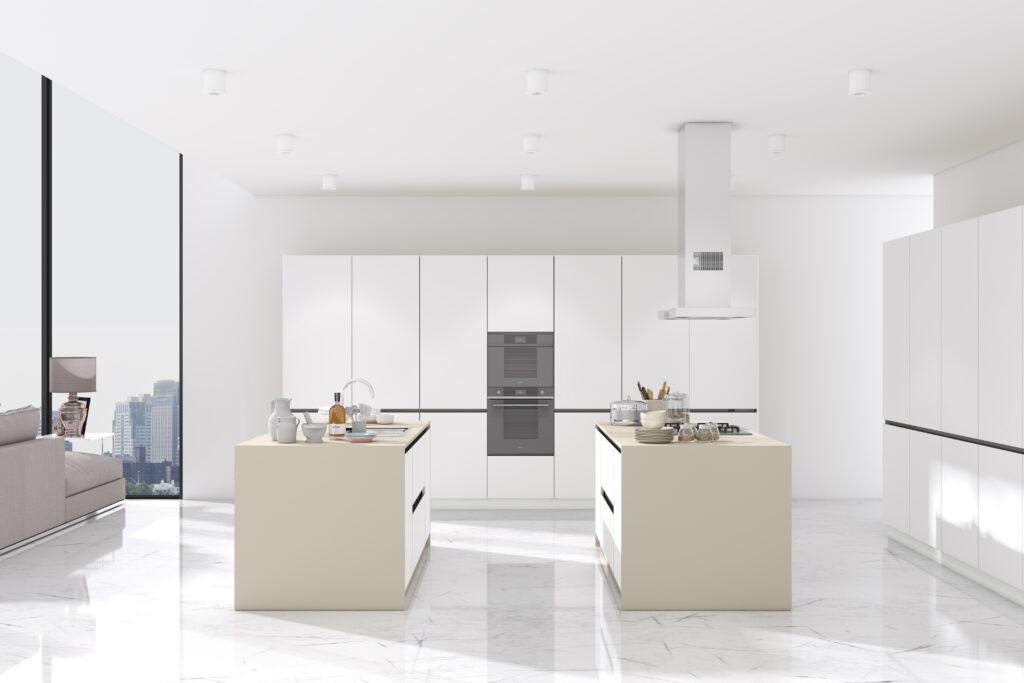 Zona Cocinas · Polilaminado P110 - Vega Elite Nieve